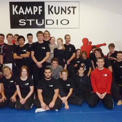 Fightclub im Kampfkunst-Studio