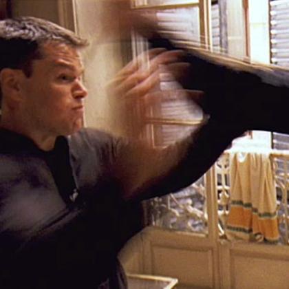 Matt Damon alias Jason Bourne bei der Arbeit ;)