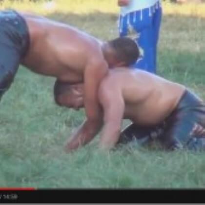 Türkischer Öl-Ringkampf