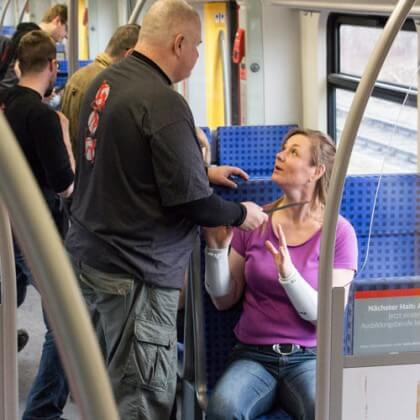 Szenarientraining in der S-Bahn